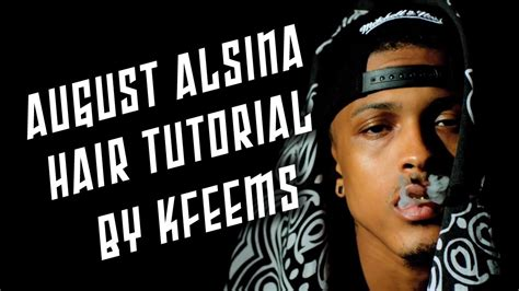 how to mak hair like august alsina august alsina hair tutorial twist out youtube