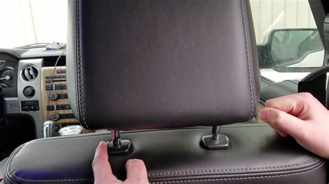 2008 hyundai elantra headrest removal how to remove ford f150 headrests youtube