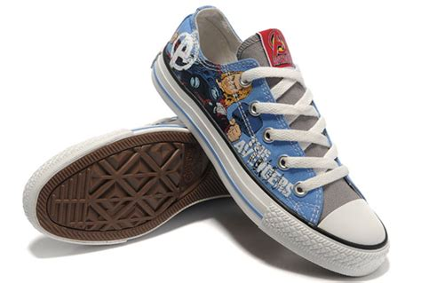 thor converse shoes marvel comics the blue low