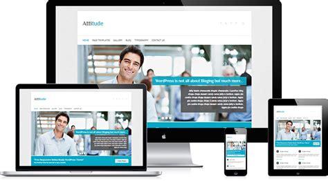 theme wordpress free responsive portfolio 5 of the best free responsive wordpress business themes 2013