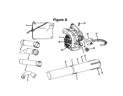 ryobi blower parts diagram buy ryobi ry09550 replacement tool parts ryobi ry09550
