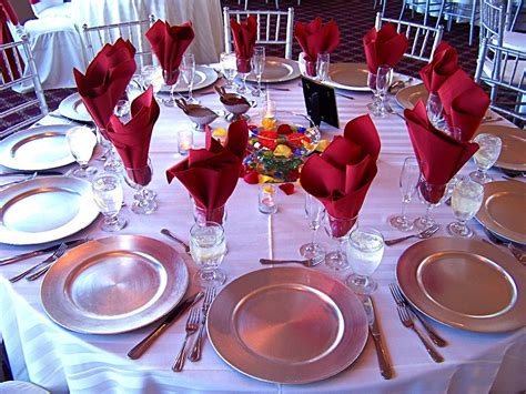 table setup table settings for weddings reference for wedding decoration