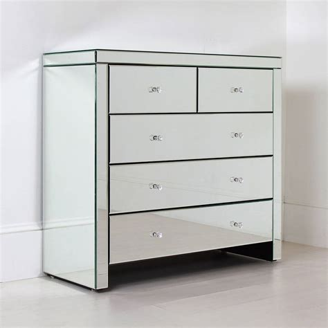 Large Chest Of Drawers by Large Mirrored Chest Of Drawers By Out There Interiors