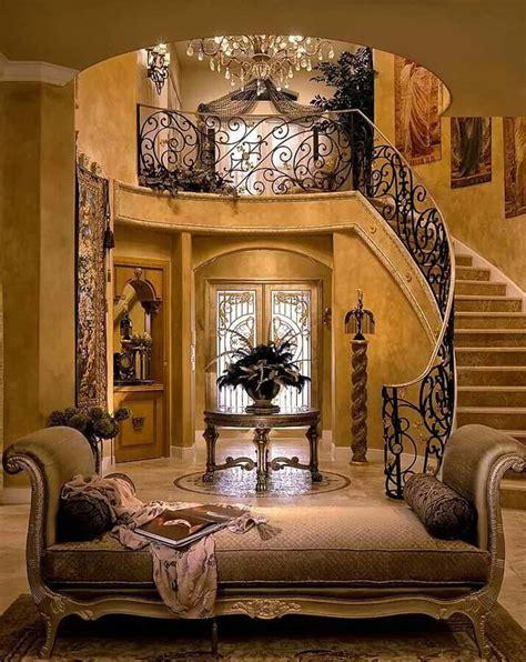 luxurious grand foyers   elegant home