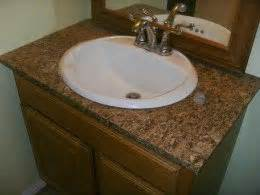 Bathroom Vanity Tops Formica How To Install Laminate Formica For A Bathroom Vanity
