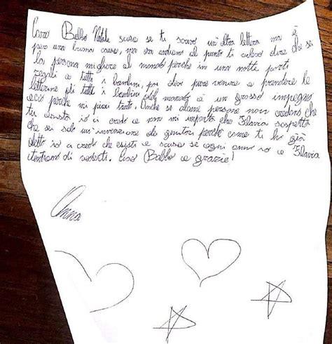 esempi di lettere a babbo natale a 8 anni scrive una lettera a babbo natale il contenuto