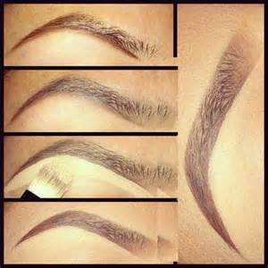 how to get perfect arched eyebrows pictures to pin on