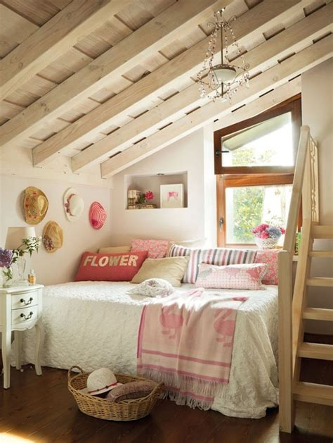 rustic attic bedroom home improvement