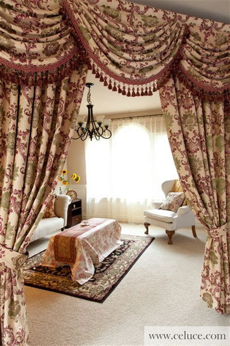 swag valances for living room rosy swag valances window treatment by celuce
