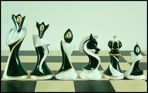 art deco chess set karnab 230 r quot purely decorative quot