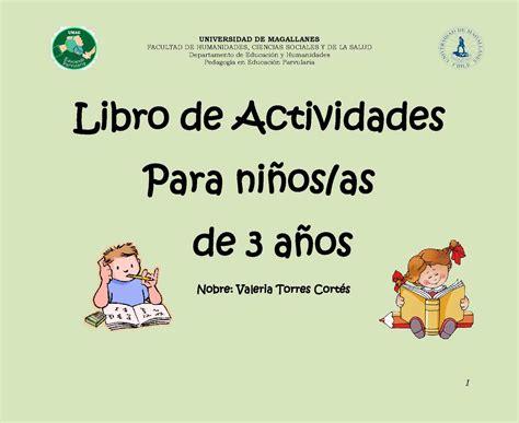 libros para ninos de kindergarten calam 233 o libro de actividades para ni 241 os as de 3 a 241 os