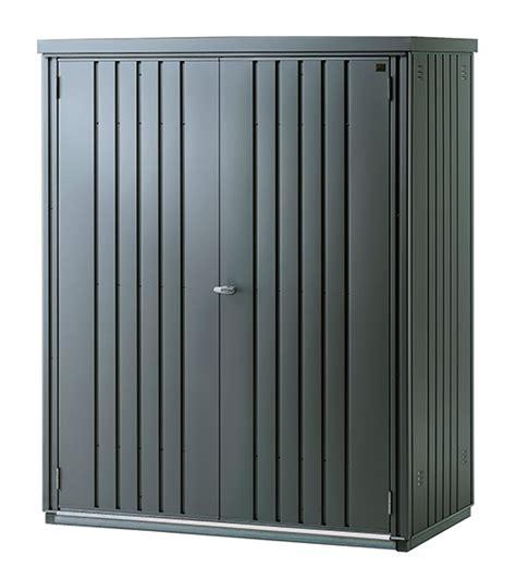armarios de jardin leroy merlin armario de acero jard 205 n gris ref 15044596 leroy merlin