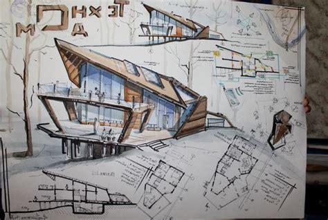 Cara Menggambar Arsitektur Bangunan Dan Contohnya