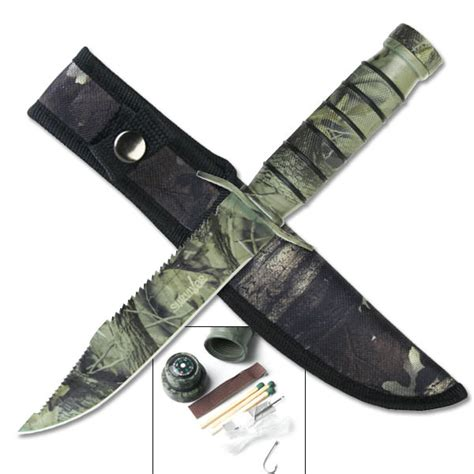 camo survival knife camo survival knife hk695c tactical survival