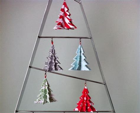 Origami Tree Decorations - origami tree ornaments lizardmedia co