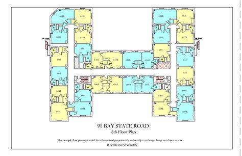 myles standish hall floor plan kilachand hall floor plans 187 housing boston university