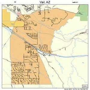 map of vail arizona vail arizona map 0478540