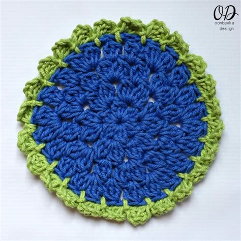 yarn dishcloth pattern easy sunflower scrubby dishcloth oombawka design crochet