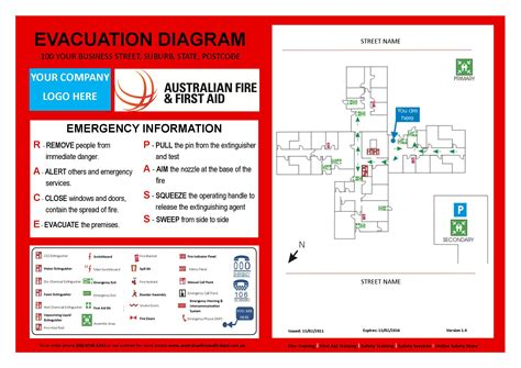 fire evacuation diagram fire free engine image for user