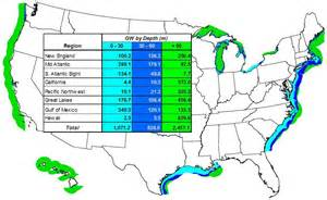 Wind Farm Map Usa by Offshore Wind Energy In U S A Wind Energy