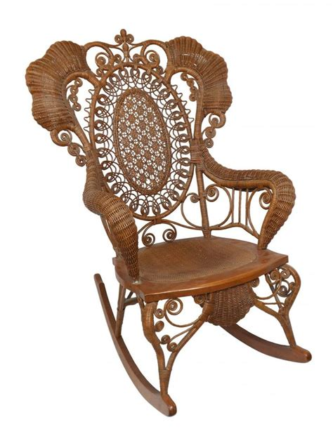 Antique Wicker Chair by Antique Wicker Rocking Chair Woodworking Projects Plans