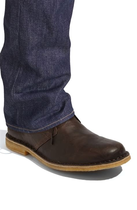 ugg chukka boot in brown for black lyst