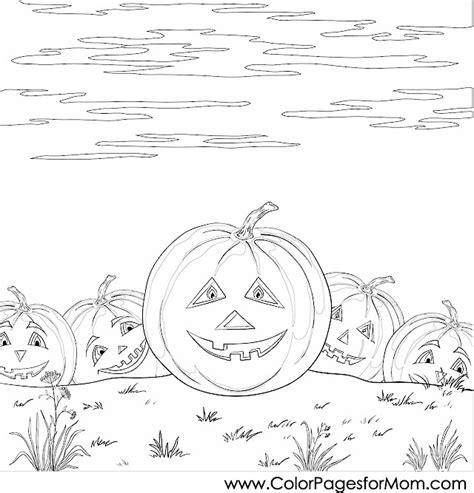 pumpkin coloring page for adults coloring pages for adults halloween pumpkin patch
