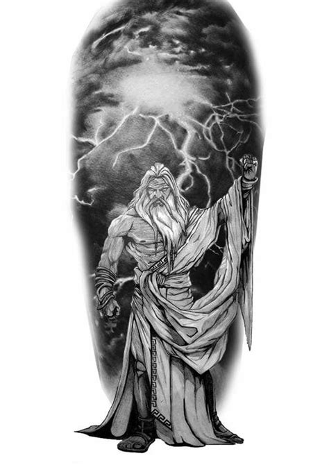 poseidon tattoo meaning zeus mythology zeus