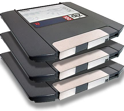 format zip drive archiving restoring s 550 and w 30 80mb zip disks hard drives