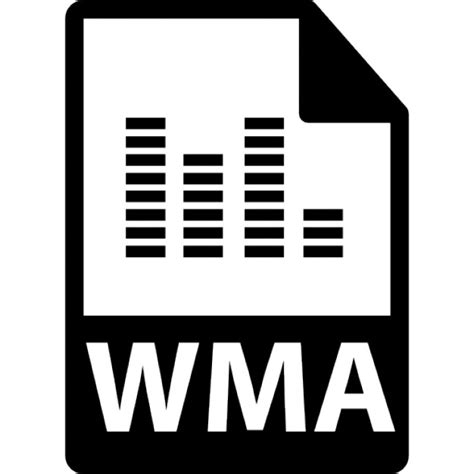 format video wma wma file format symbol icons free download