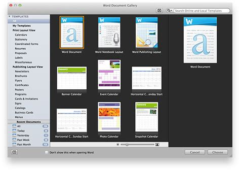 mac office templates microsoft office for mac is it any different