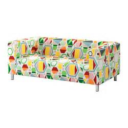 Black Loveseat Covers Klippan Loveseat Glottra Multicolor Ikea