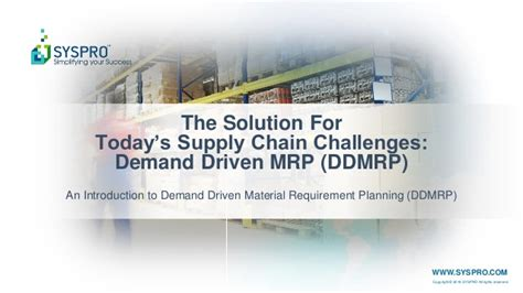 today solution the solution for today s supply chain challenges demand