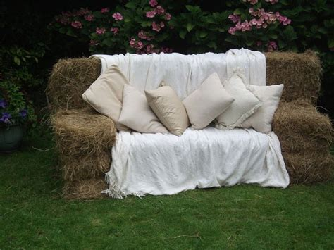 hay bale sofa pinterest discover and save creative ideas