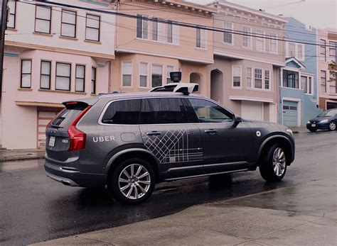 uber volvo launches  driving pilot  san francisco