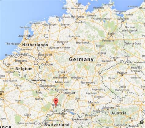 map of freiburg freiburg gateway to black forest world easy guides