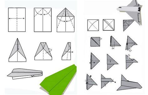 How To Make A Unique Paper Airplane - paper planes rasch dads with easy and fathers day ideas