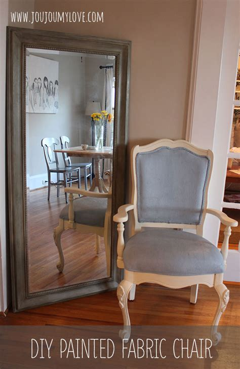 diy chalk paint on fabric diy painted fabric chair using sloan chalk paint