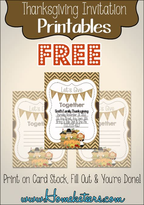 printable thanksgiving invitation cards pilgrim thanksgiving invitations free printable