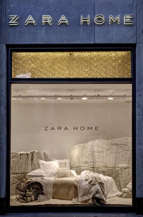 zara home design retail design zara home windows milan italy