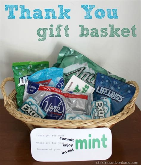 25 best ideas about thank you tags on thank the best 25 thank you baskets ideas on thank you