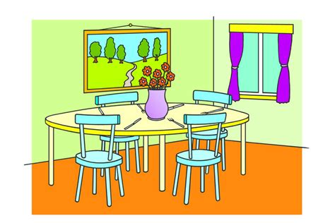 cartoon dining room dining room learnenglish kids british council