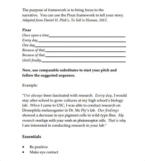 sle word document templates elevator pitch worksheet 51 images sle elevator pitch