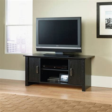 mainstays tv stand for flat screen tvs up to 42 quot walmart