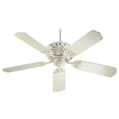 antique white ceiling fan with light quorum lighting windsor antique white ceiling fan without