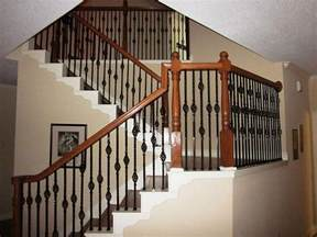 Iron Stairs Design Wrought Iron Stair Balusters Designs Stair Design Ideas