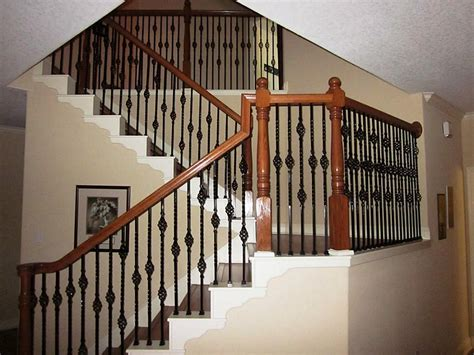 Wrought Iron Banister Spindles by Wrought Iron Staircase Spindles Home Design By Larizza