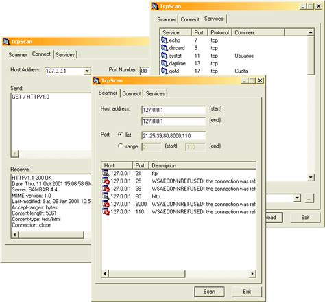 tcp ip scanner how to write a simple but effective tcp ip scanner