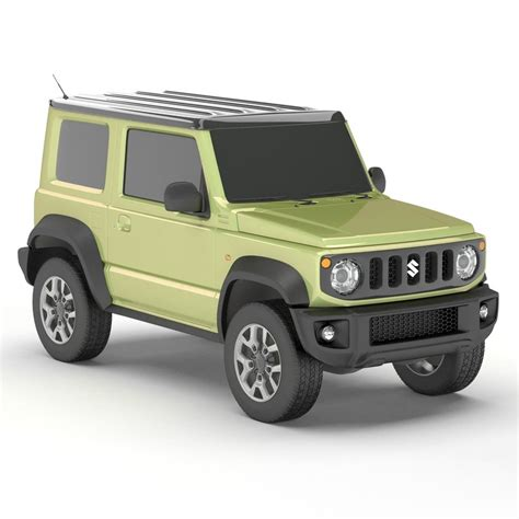 2019 Suzuki Models by Suzuki Jimny 2019 3d Model Turbosquid 1359787