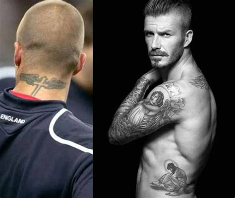 looking good as always davidbeckham tattoos soccer
